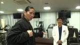 いとこで医師の丸山泰幸氏とともに新作ダンスを考案したSAM(C)フジテレビ