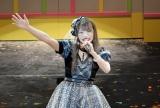 涙から一転、顔を粉で真っ白にしながら清々しい笑顔で締めくくったSKE48の松村香織 (C)ORICON NewS inc.