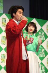 「氷結」新商品発表会に出席した柳楽優弥