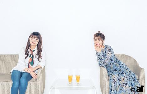 サムネイル 『ar』9月号で山崎ケイ(左)と対談する指原莉乃