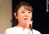 母・朝丘雪路さんが最後のライブを行った場所で歌手デビューを発表した真由子 (C)ORICON NewS inc.