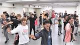 連続ドキュメンタリー『RIDE ON TIME』でクリスマス公演へ向けて稽古する関西ジャニーズJr. (C)フジテレビ