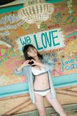 初写真集を発売する『ミスマガジン2018』グランプリの沢口愛華(C)LUCKMAN/講談社