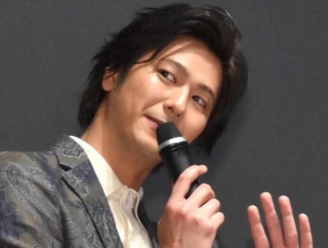 映画『Bの戦場』プレミア上映会に出席した速水もこみち (C)ORICON NewS inc.