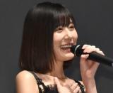 映画『Bの戦場』プレミア上映会に出席した有村藍里 (C)ORICON NewS inc.