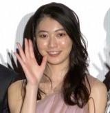映画『笑顔の向こうに』完成披露上映会に出席した安田聖愛 (C)ORICON NewS inc.