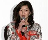 映画『笑顔の向こうに』完成披露上映会に出席した佐藤藍子 (C)ORICON NewS inc.