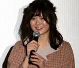 映画『笑顔の向こうに』完成披露上映会に出席したayanonono (C)ORICON NewS inc.