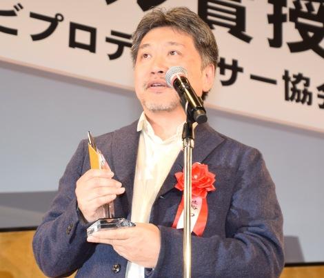 『2019年エランドール賞』で特別賞を受賞した『万引き家族』の監督・是枝裕和氏 (C)ORICON NewS inc.