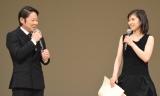 阿部サダヲ(左)に『いだてん』出演を直訴する松岡茉優 (C)ORICON NewS inc.