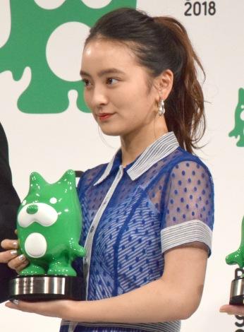 『BLOG of the year 2018』で優秀賞を受賞した岡田結実 (C)ORICON NewS inc.