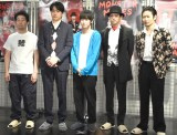 (左から)前野朋哉、青柳翔、本郷奏多、吉沢悠、戸次重幸 (C)ORICON NewS inc.