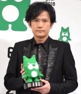 『BLOG of the year 2018』で優秀賞を受賞した稲垣吾郎 (C)ORICON NewS inc.