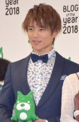 『BLOG of the year 2018』で優秀賞を受賞した杉浦太陽 (C)ORICON NewS inc.