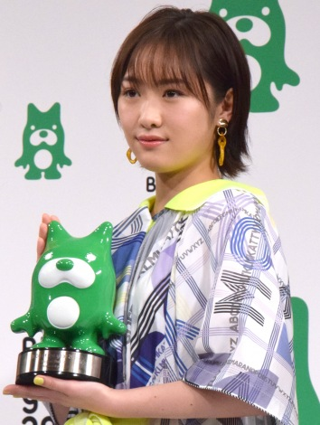 『BLOG of the year 2018』で優秀賞を受賞した工藤遥 (C)ORICON NewS inc.