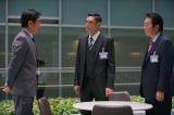 TBS系『今野敏サスペンス 隠蔽捜査〜去就〜』(3月11日放送)(左から)生瀬勝久、杉本哲太、古田新太(C)TBS