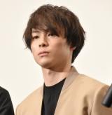 映画『BACK STREET GIRLS-ゴクドルズ-』公開記念舞台あいさつに登壇した柾木玲弥 (C)ORICON NewS inc.
