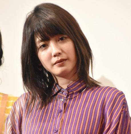 映画『BACK STREET GIRLS−ゴクドルズ−』公開記念舞台あいさつに登壇した松田るか (C)ORICON NewS inc.