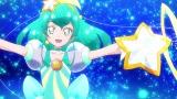 アニメ『スター☆トゥインクルプリキュア』第2話に登場するキュアミルキー (C)ABC-A・東映アニメーション
