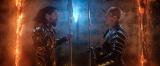 映画『アクアマン』異父弟のオーム王(パトリック・ウィルソン)との壮絶な兄弟げんかが地球を危機にさらす(C)2019 Warner Bros. Ent. All Rights Reserved TM & (C) DC Comics