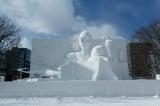 """『第70回さっぽろ雪まつり』""""体験できる""""巨大雪像『白いスター・ウォーズ2019』完成。『スター・ウォーズ/エピソード9(仮題)』の公開日が米国と同じ12月20日に決定"""
