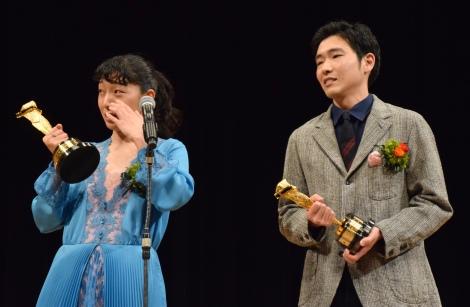 (左から)安藤サクラ、柄本佑=『2018年 第92回キネマ旬報ベスト・テン』表彰式 (C)ORICON NewS inc.