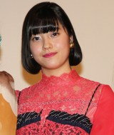 『21世紀の女の子』公開記念舞台あいさつに登壇した倉島颯良 (C)ORICON NewS inc.