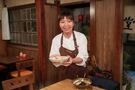 連続テレビ小説『まんぷく』料理指導・広里貴子さん(C)NHK