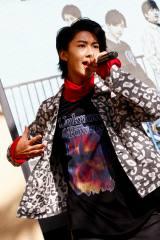 2ndアルバム『Time Capsule』発売記念イベントでのM!LK・曽野舜太 撮影:小坂茂雄