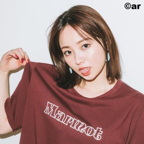 サムネイル 『ar』3月号「Tシャツ特集」のモデルを務めた今泉佑唯
