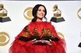 『第61回グラミー賞』年間最優秀アルバムを含む4部門で受賞したケイシー・マスグレイヴス(C)GettyImages