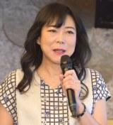 焼酎『となりのおくさん』シリーズ販売開始記念イベントに出席した椿鬼奴 (C)ORICON NewS inc.
