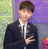 1st Live『Remember me 〜新たなる旅立ち〜』公演前に囲み取材に応じた石橋陽彩 (C)ORICON NewS inc.