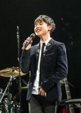 初ライブにして歌手活動休止前最後の歌声を響かせた石橋陽彩