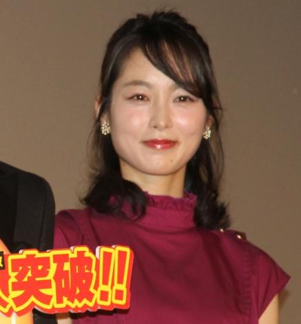 映画『七つの会議』大ヒット御礼舞台あいさつに出席した朝倉あき (C)ORICON NewS inc.