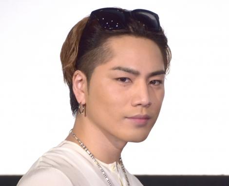 映画『雪の華』大ヒット御礼イベントに出席した登坂広臣 (C)ORICON NewS inc.