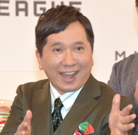 『Mリーグ』2018年度ファイナルシリーズ記者会見に出席した田中裕二