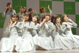 2ndシングル「風を待つ」を披露したSTU48 (C)ORICON NewS inc.