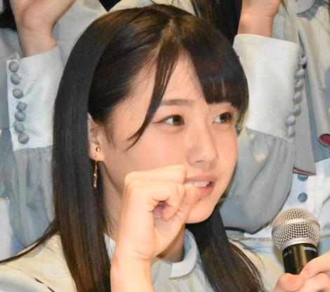 2ndシングル「風を待つ」発売イベントを開催したSTU48 (C)ORICON NewS inc.