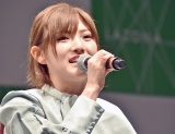 キャプテンの岡田奈々=STU48 2ndシングル「風を待つ」発売イベント (C)ORICON NewS inc.