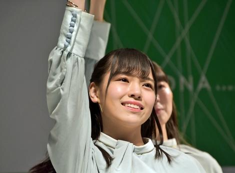 岩田陽菜=STU48 2ndシングル「風を待つ」発売イベント (C)ORICON NewS inc.