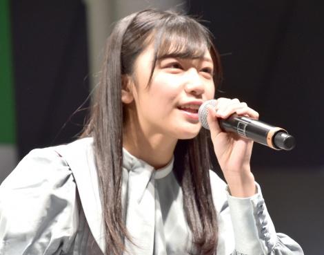 磯貝花音=STU48 2ndシングル「風を待つ」発売イベント (C)ORICON NewS inc.