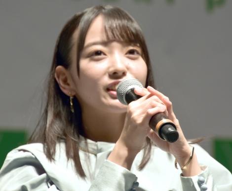 石田みなみ=STU48 2ndシングル「風を待つ」発売イベント (C)ORICON NewS inc.
