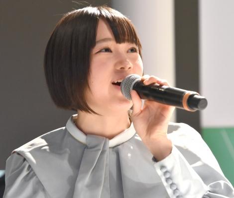 甲斐心愛=STU48 2ndシングル「風を待つ」発売イベント (C)ORICON NewS inc.