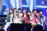 『連続ドキュメンタリー RIDE ON TIME』京セラドーム大阪で「なにわ Lucky Boy!!」を歌うなにわ男子 (C)フジテレビ