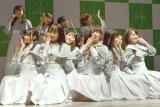 2ndシングル「風を待つ」披露したSTU48 (C)ORICON NewS inc.