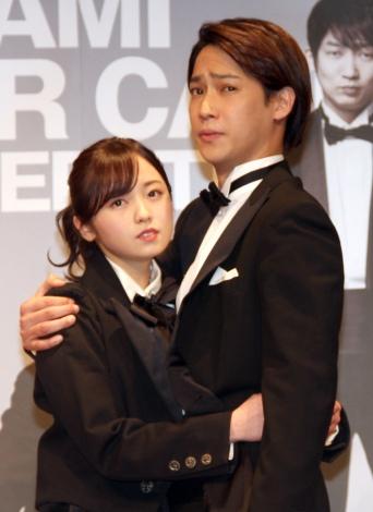 味方良介との抱擁シーンも=舞台『熱海殺人事件 LAST GENERATION46』 (C)ORICON NewS inc.