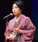 『第73回毎日映画コンクール』の表彰式に出席した内田也哉子 (C)ORICON NewS inc.