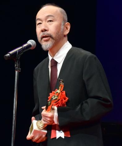 『第73回毎日映画コンクール』の表彰式に出席した塚本晋也 (C)ORICON NewS inc.