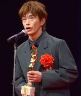 『第73回毎日映画コンクール』の表彰式に出席した玉置玲央 (C)ORICON NewS inc.